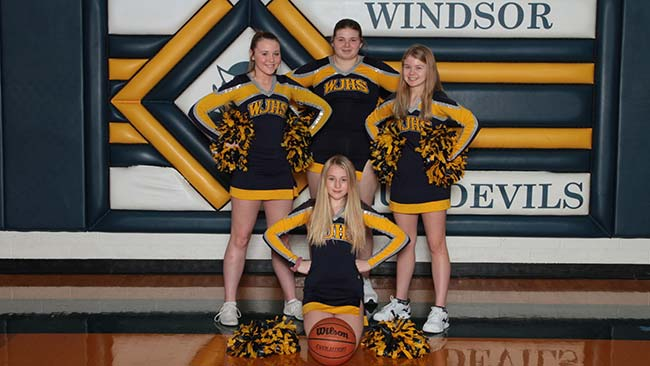 Jr. High Basketball Cheerleading