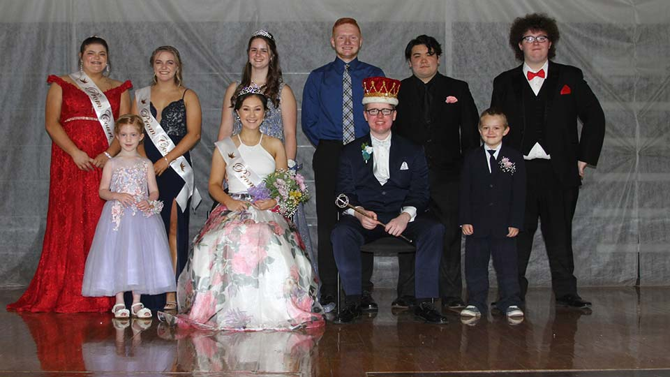 Windsor High School 2021 Prom Court