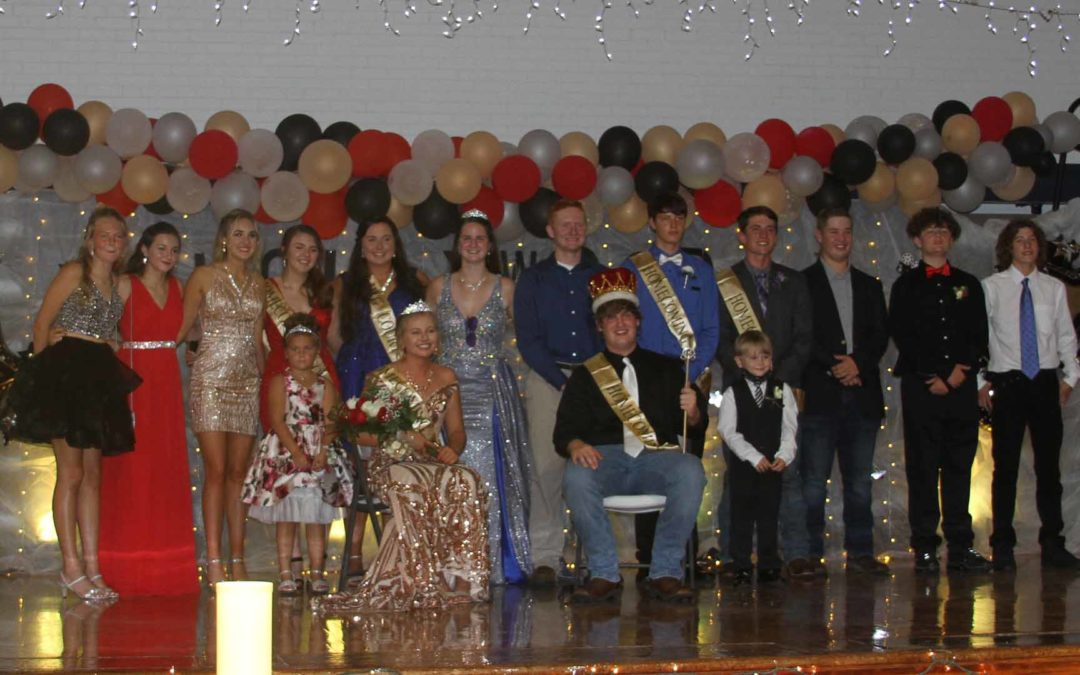 Congratulations to the 2021 Homecoming Royalty.